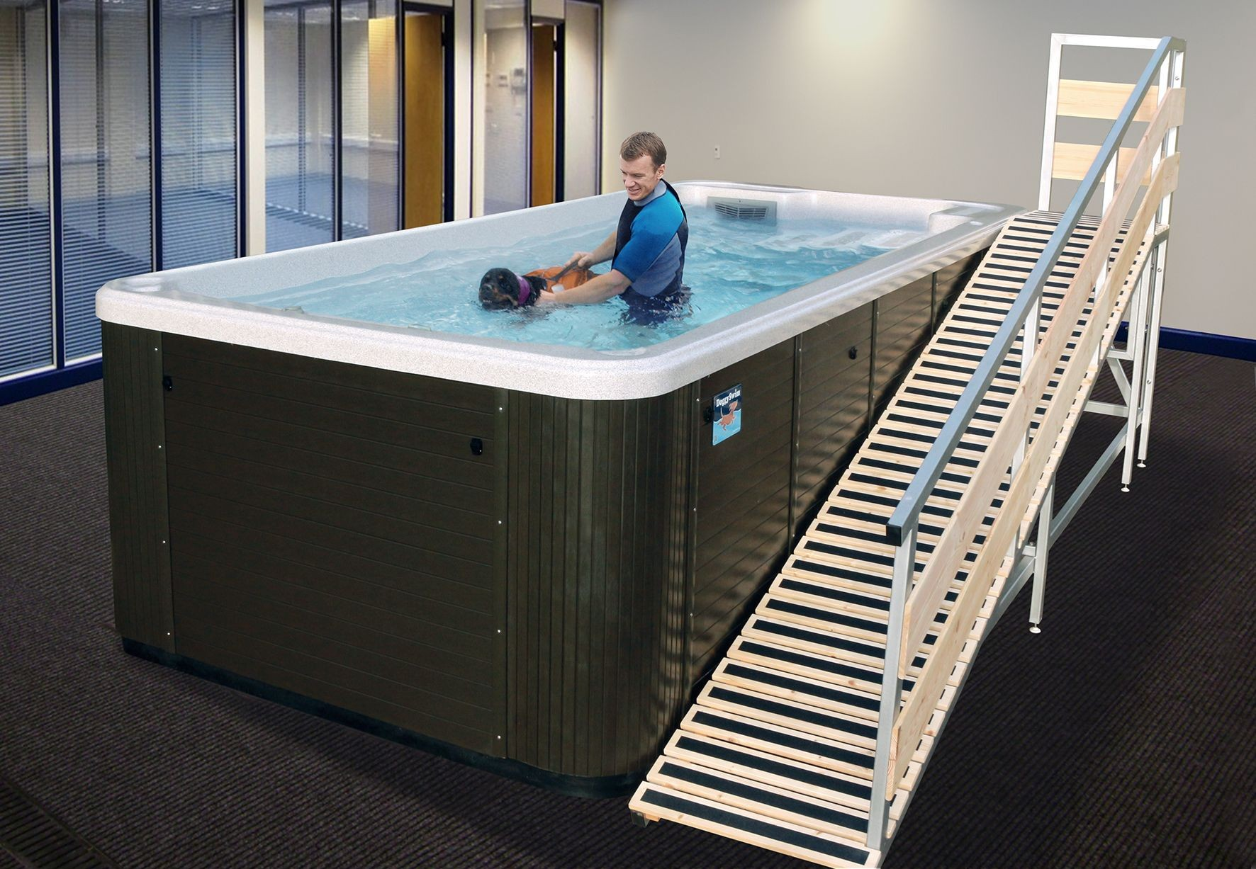 DoggySwim Canine Exercise Pools - Hydrotherapy for Dogs!