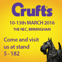 As seen at Crufts and the London Vet Show 2014